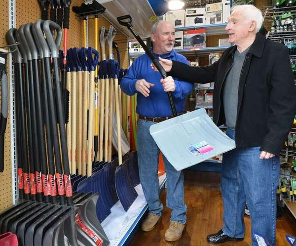 Kevin Shields, an owner of Shields Hardware in