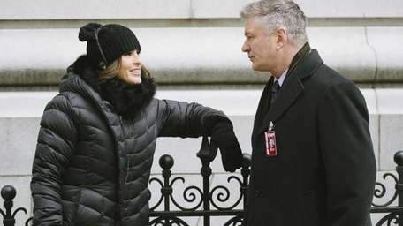 Mariska Hargitay and Alec Baldwin in