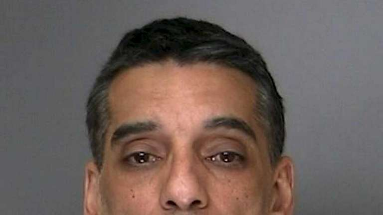 Daniel Charbonnier, 46, of Ronkonkoma, was charged on