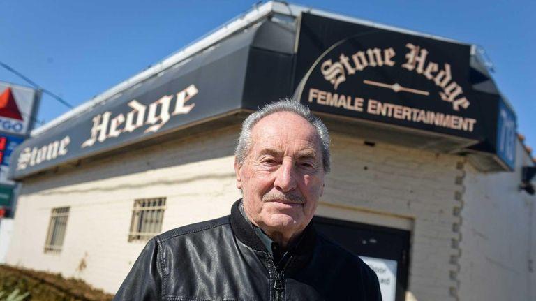 Howard Romer, owner of the Stone Hedge Pub,