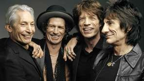 The Rolling Stones -- from left, Charlie Watts,