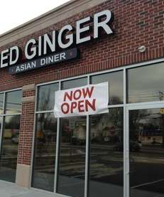 Red Ginger Asian Diner is serving dan dan