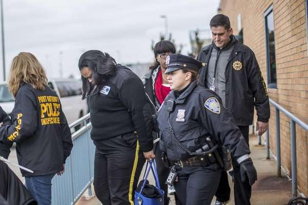 JFK Airport taxi dispatchers are led to law