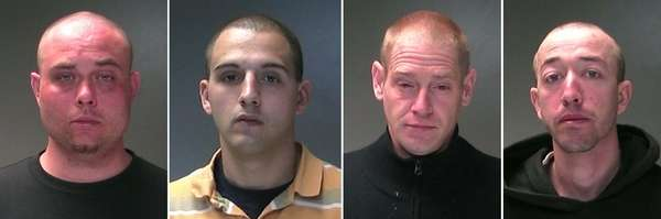 Jonathan Farinella, of East Patchogue, Jefrey Merritt, of