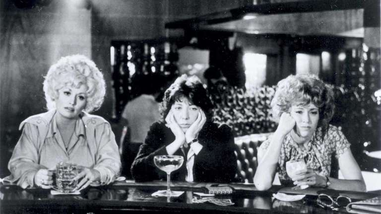 Dolly Parton, Lily Tomlin and Jane Fonda in