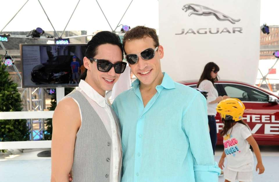 Figure skater Johnny Weir filed for divorce from