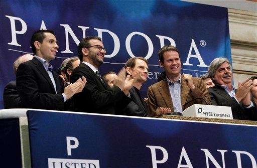 Pandora has signed its first-ever direct licensing deal