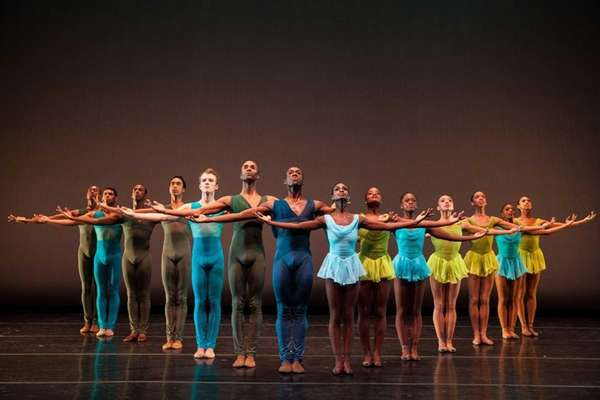 The Dance Theatre of Harlem performs the ballet