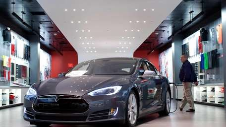 Sales for Tesla vehicles have failed to falter