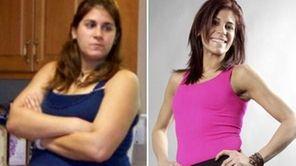 Nermeen Devlin, 28, of Massapequa, ballooned to 280