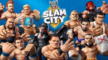WWE wrestlers are starring in Slam City, a