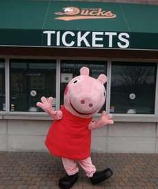 Peppa Pig will be available on Saturday, March