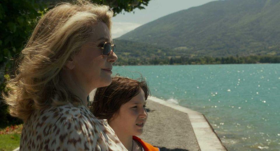 """Catherine Deneuve and Nemo Schiffman in """"On My"""