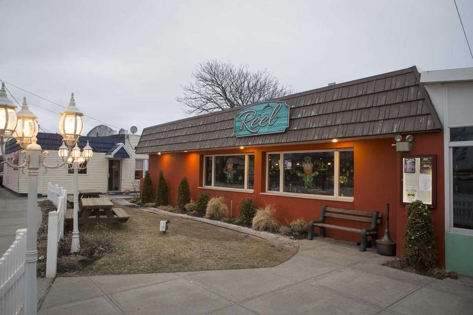 Reel, a seafood restaurant in East Rockaway, sits