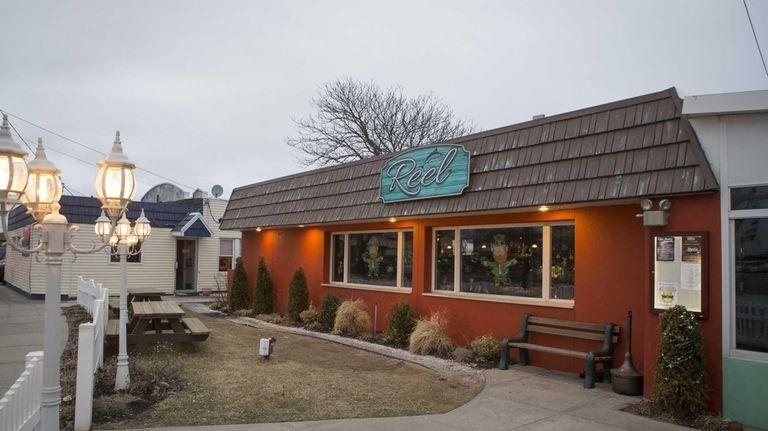 Reel, a seafood restaurant in East Rockaway, sits