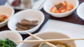 KOREAN MANDU AT SURASANG, Syosset: These savory little
