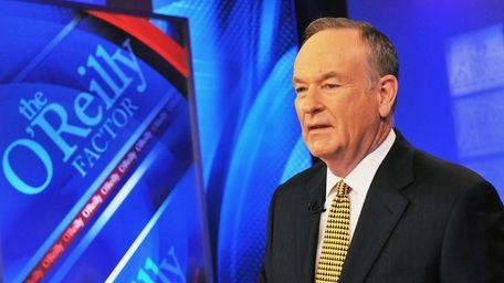 Fox News host Bill O'Reilly, seen on Dec.