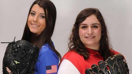 Kerri Shapiro of East Meadow, left, and Francesca