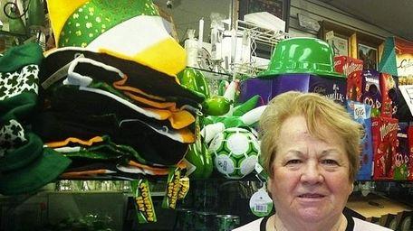 Ireland native Kathleen Alcock, owner of the Kathleen