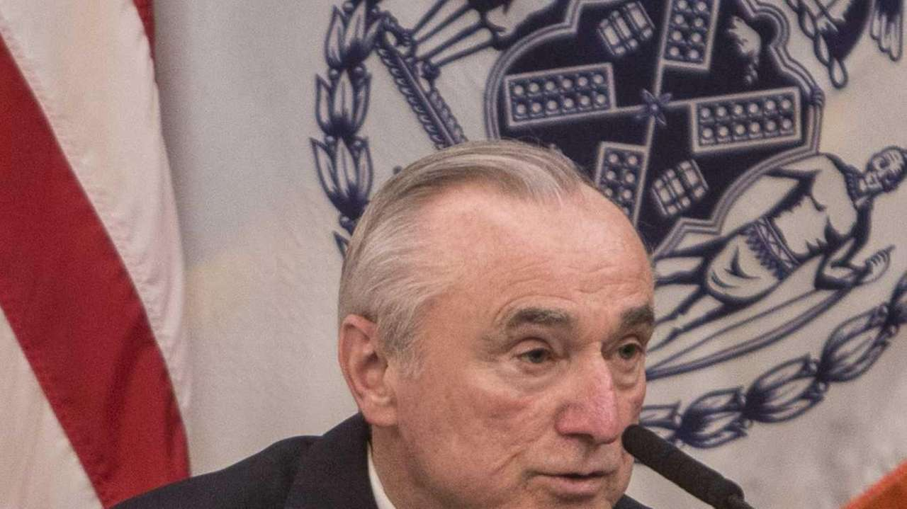 NYPD head Bill Bratton testifies before the New