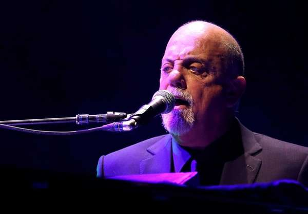 Billy Joel performs at Madison Square Garden in