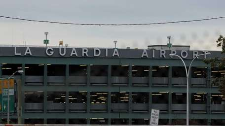 A view of LaGuardia Airport on Oct. 31,