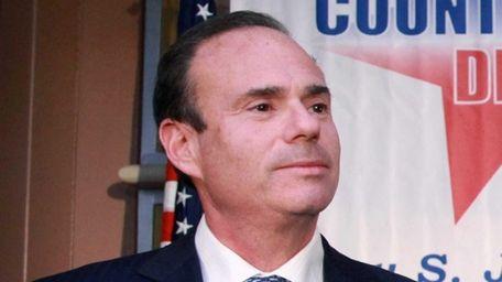 Nassau Democratic chairman Jay Jacobs on Nov. 5,