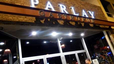 People patronizing a sneak preview of Parlay Gastropub