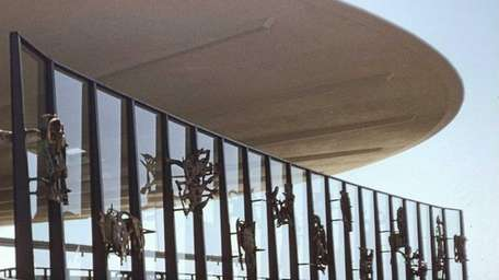The 12 bronze sculptures depicting the signs of