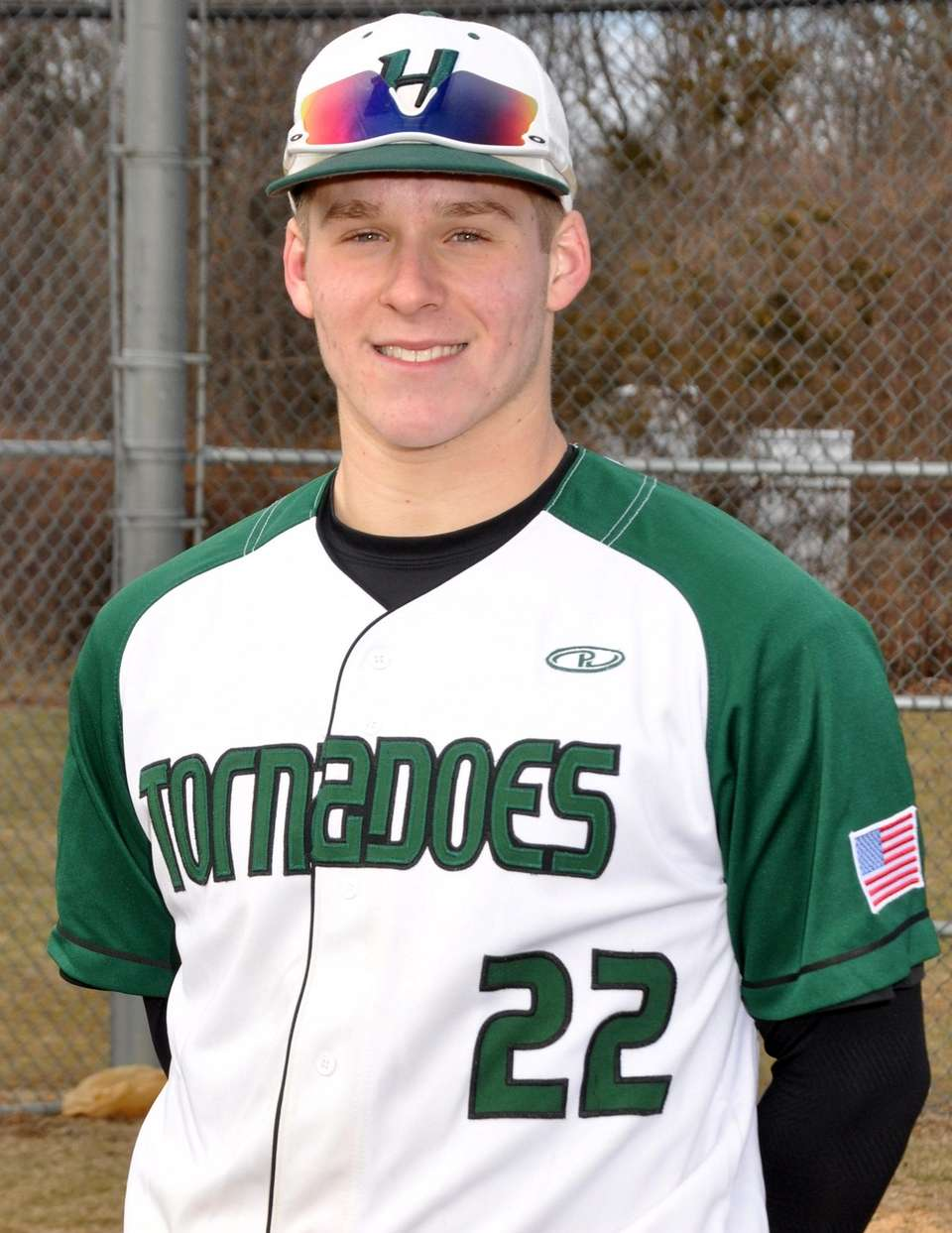 KEN ADAIR Harborfields, Pitcher, Senior Two-time All-League selection