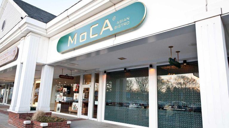 MoCA Asian Bistro, located in the Woodbury Village