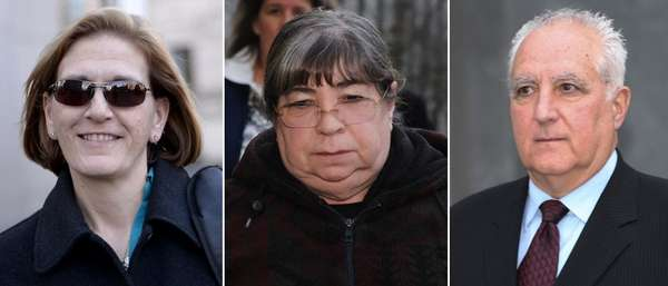 Five former employees of imprisoned financier Bernard Madoff