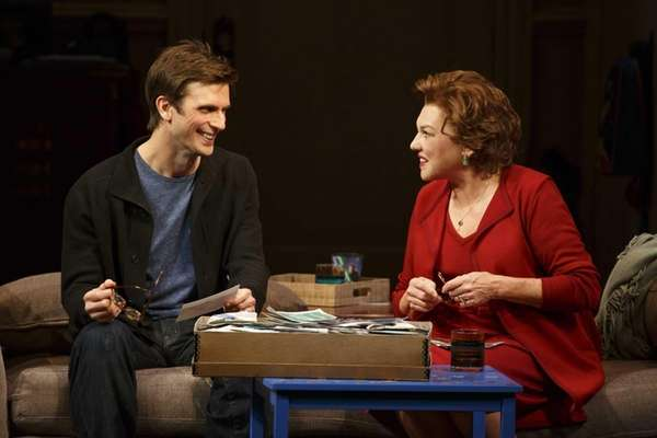 "Frederick Weller and Tyne Daly in ""Mothers and"