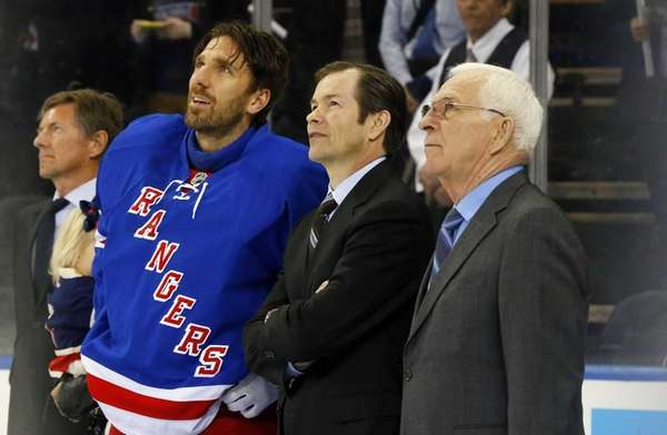 Ed Giacomin, Mike Richter Part Of Tribute To Henrik Lundqvist At Madison Square Garden - Newsday