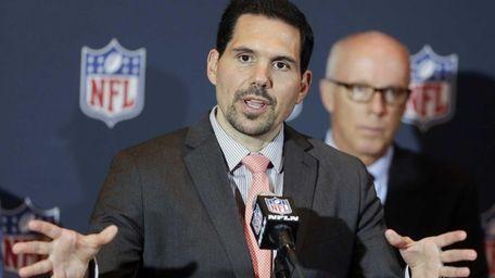NFL vice president of officiating Dean Blandino speaks