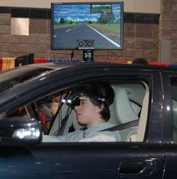 Drive Square, a Virginia-based company, uses a simulator