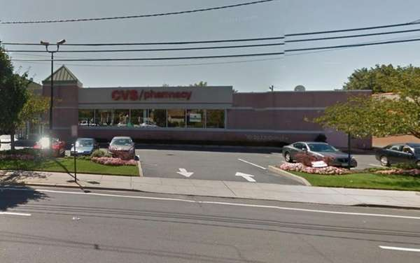 A Google street view of the CVS pharmacy