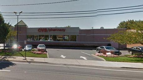 A Google street view of the CVS pharmacy