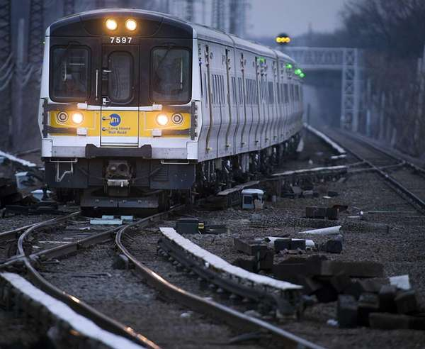A Long Island Rail Road engineer was recognized