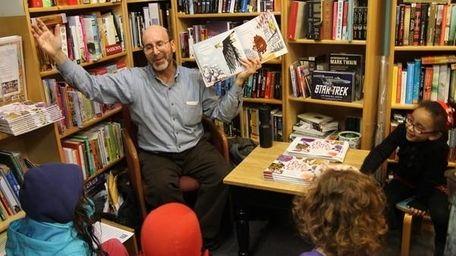 Children's book author Artie Bennett will be at