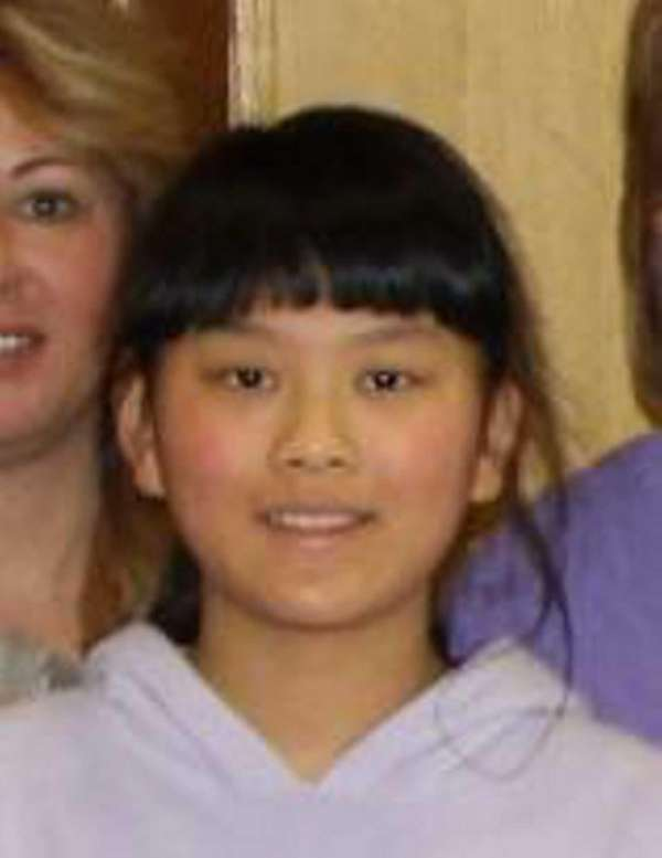 Audrey Zhang, a fifth-grader at Island Trees Memorial