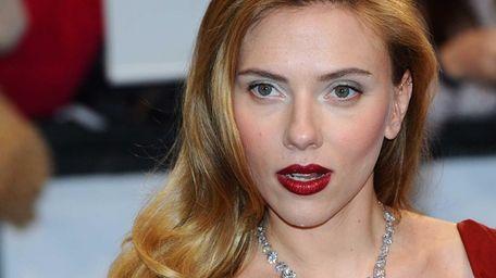 Scarlett Johansson, seen attending the London film premiere