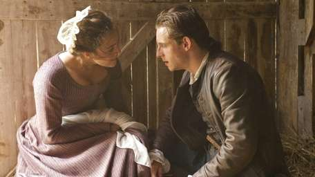 Heather Lind as Anna Strong and Jamie Bell