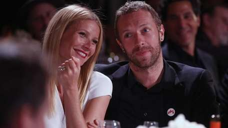 Gwyneth Paltrow and Chris Martin attend the third