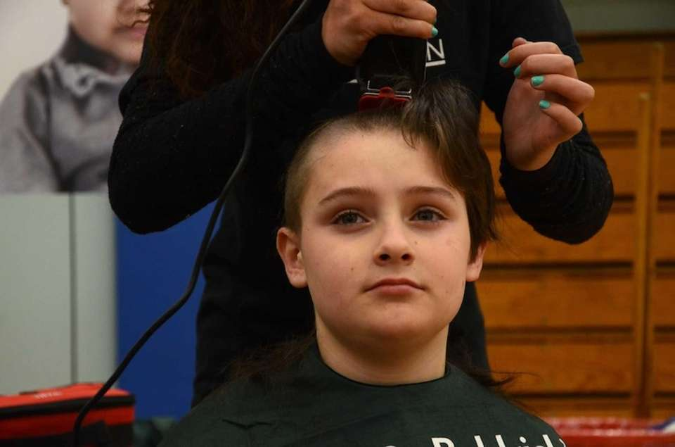 Fourth-grader John Dossie, 9, of Old Bethpage, got