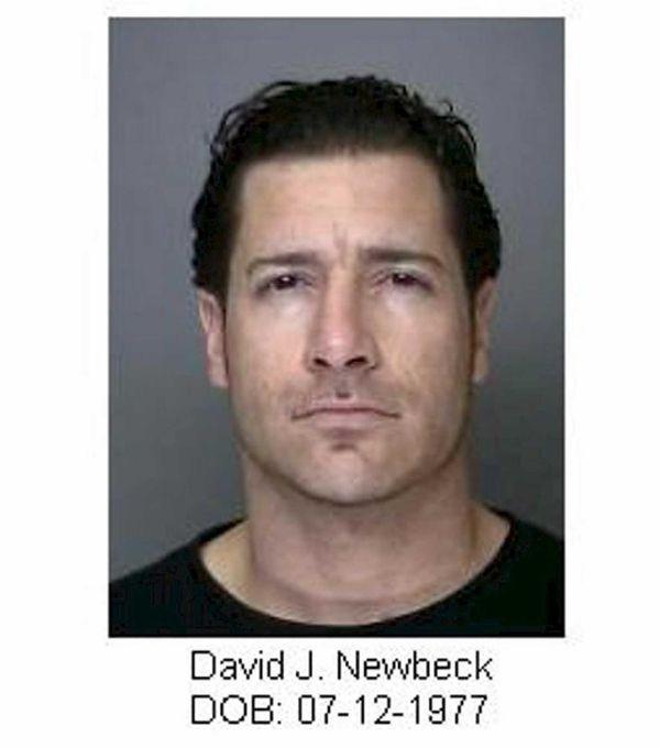 David Newbeck, 36, of Massapequa, was charged with