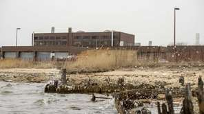 The sewage treatment plan at Bergen Point in