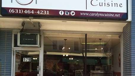 Carolyn's Cuisine serves soul food in the former