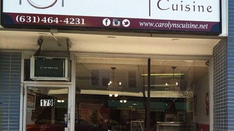 Carolyn's Cuisine serves soul food in the former