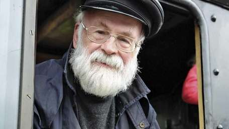 Terry Pratchett, author of